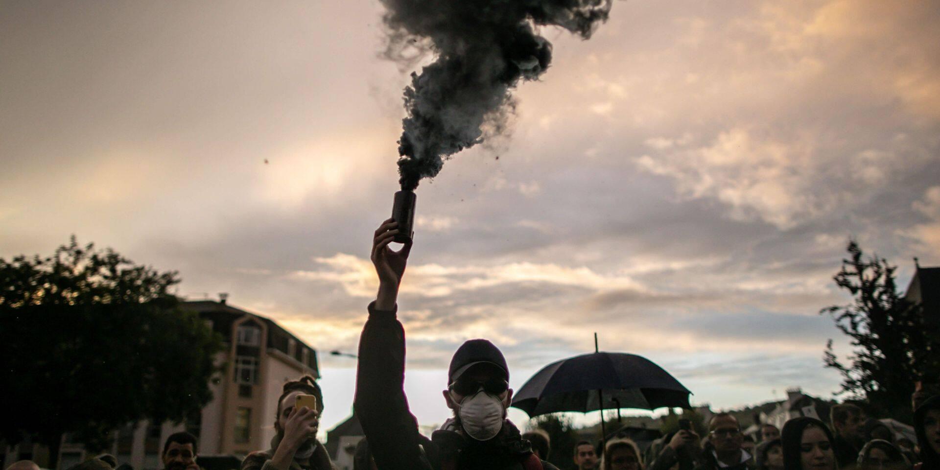 """À Rouen, un peu plus d'une centaine de personnes aux urgences, mais """"la qualité de l'air est parfaitement respirable"""""""