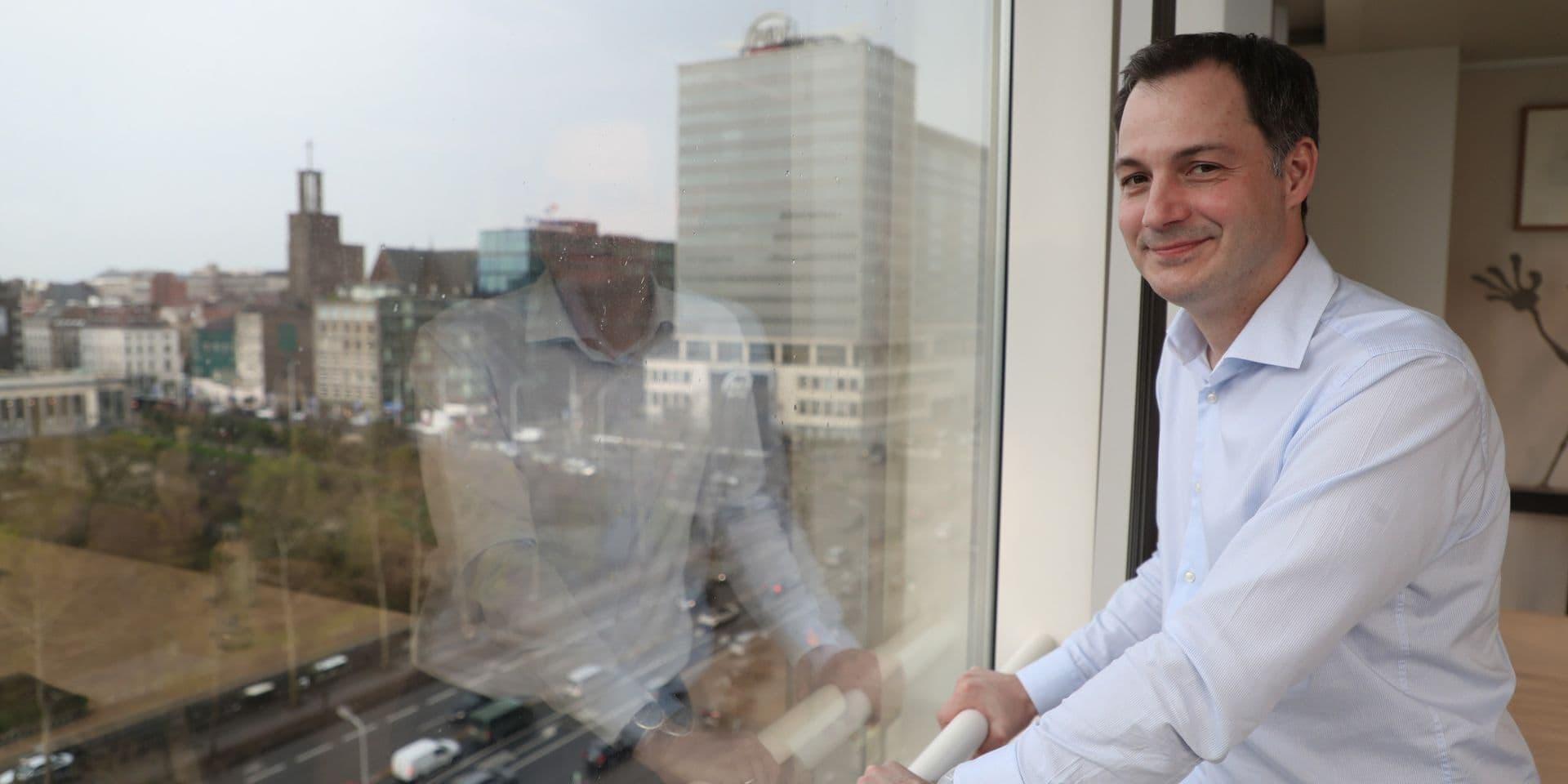 """Alexander De Croo : """"Je m'attends à ce que BNP Paribas Fortis supprime son dividende"""""""