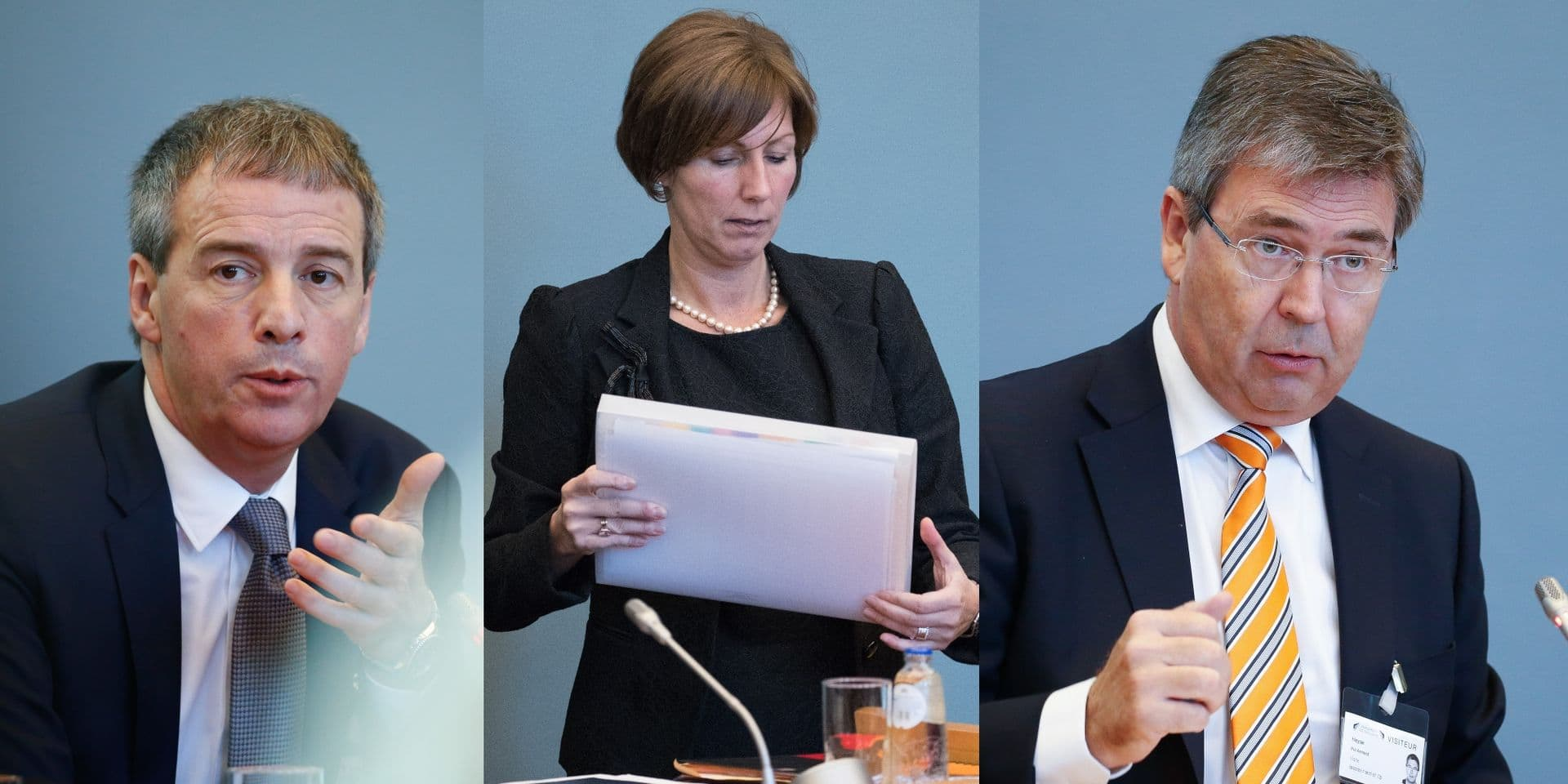 Stéphane Moreau, Bénédicte Bayer et Pol Heyse