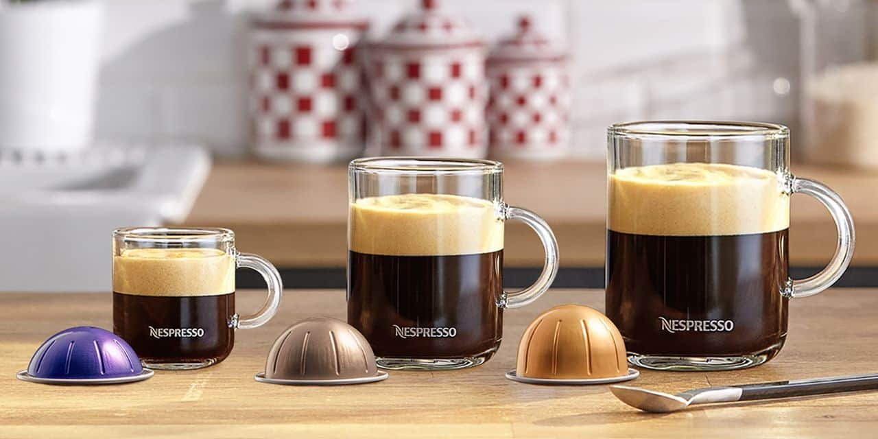 Nespresso VERTUO : Un café onctueux à la hauteur des tasses XXL
