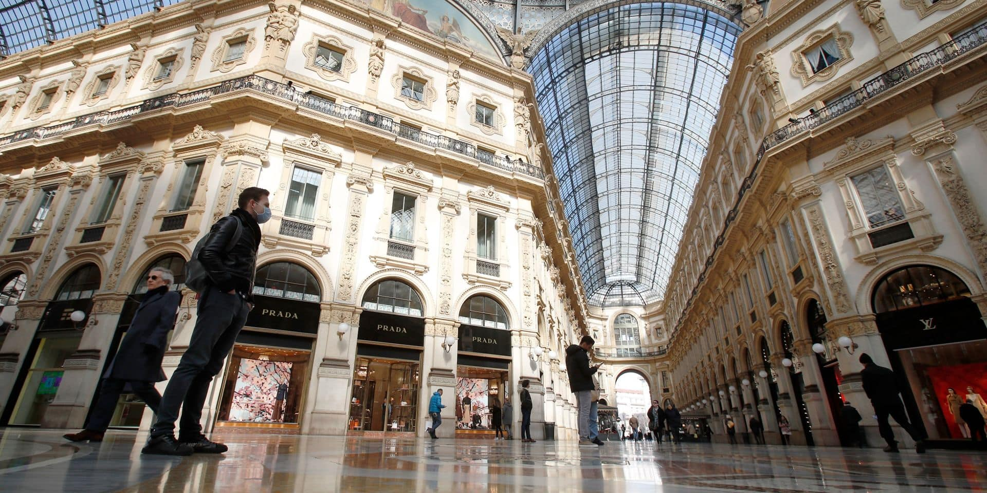 Seize millions d'Italiens confinés dans le Nord