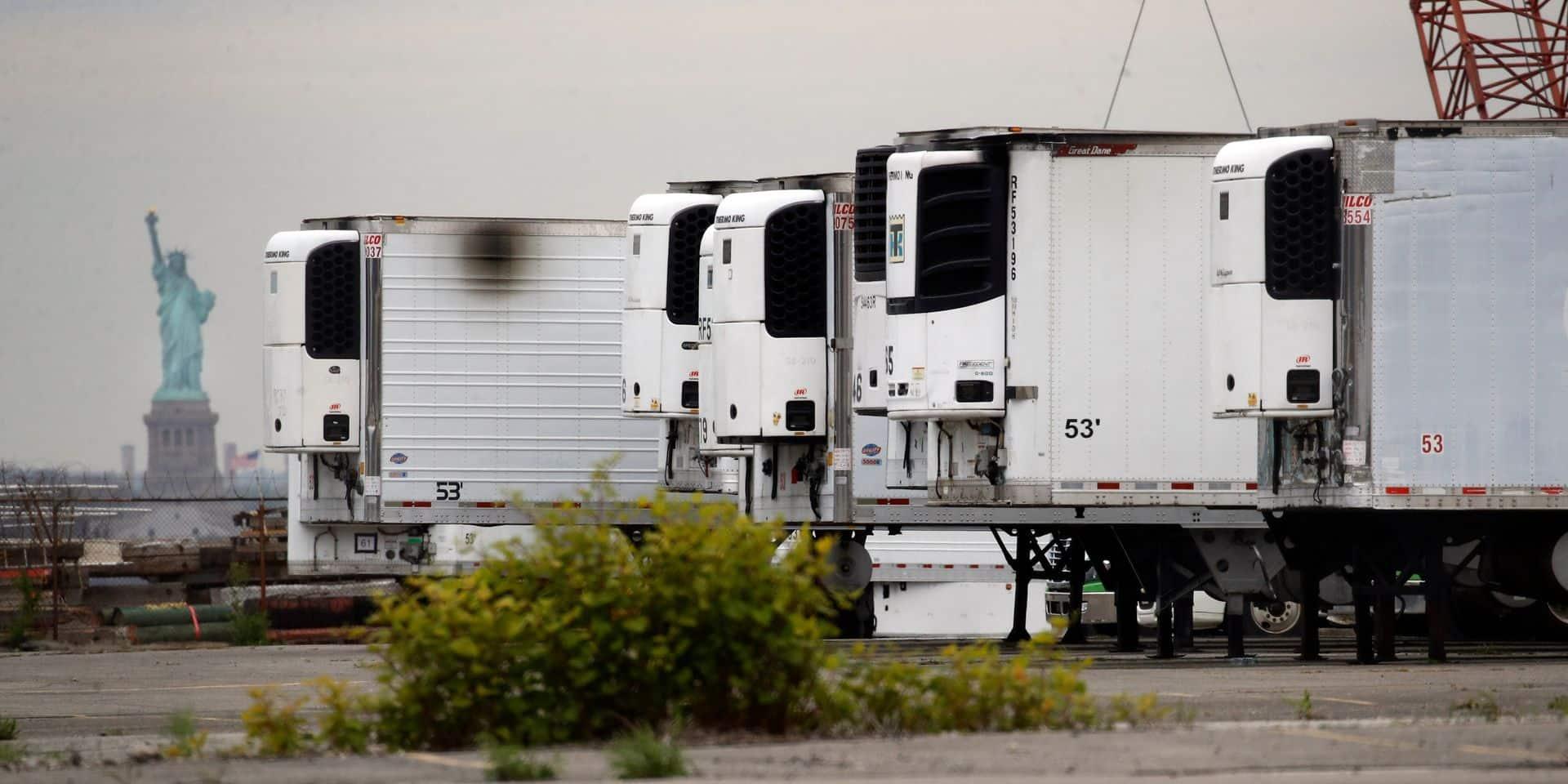 À New York, des centaines de victimes du Covid sont entreposées depuis plus d'un an dans des camions frigorifiques