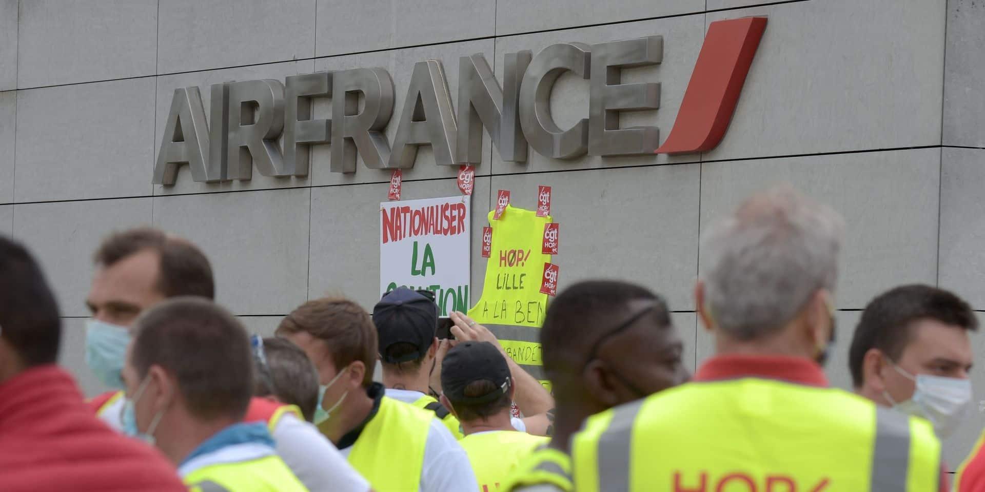 Le groupe Air France va supprimer 7.580 postes d'ici fin 2022