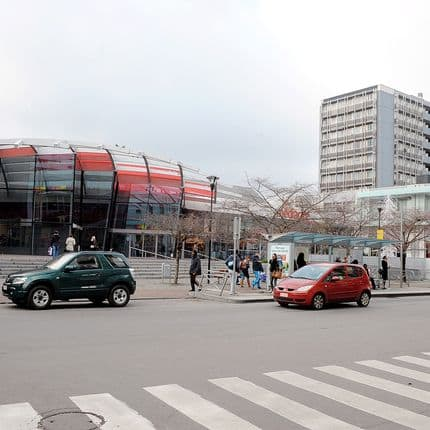Quartier du Longdoz à Liège