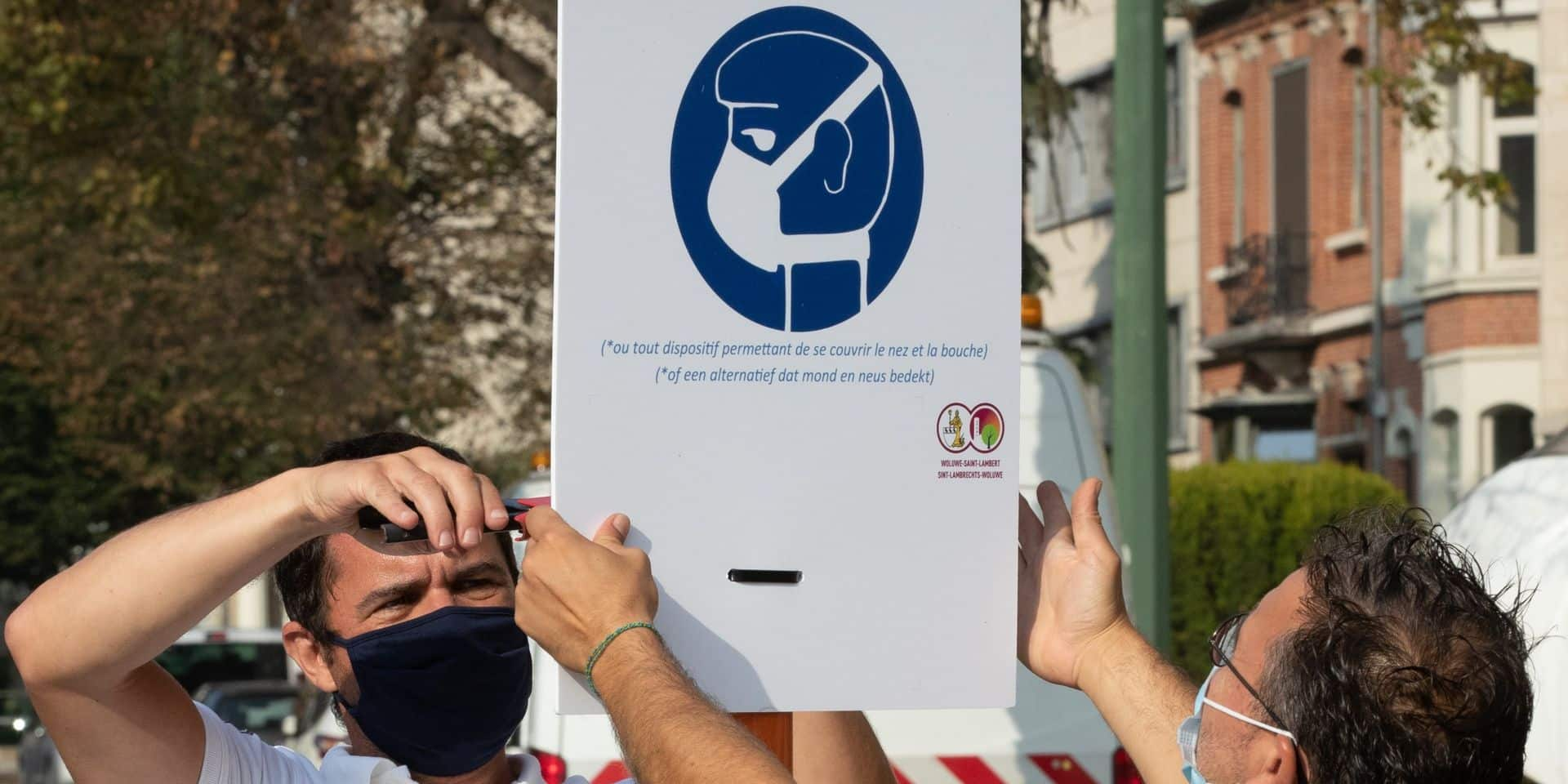 Coronavirus: le Conseil d'Etat rejette une demande contre le port du masque à Bruxelles