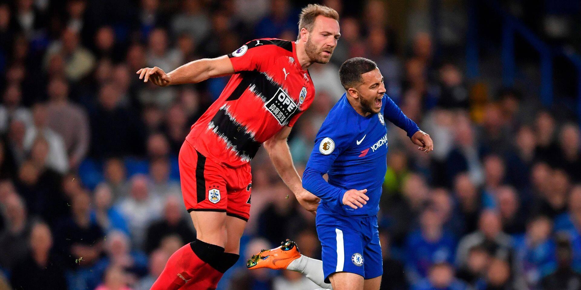 Huddersfield se maintient en Premier League grâce à Laurent Depoître