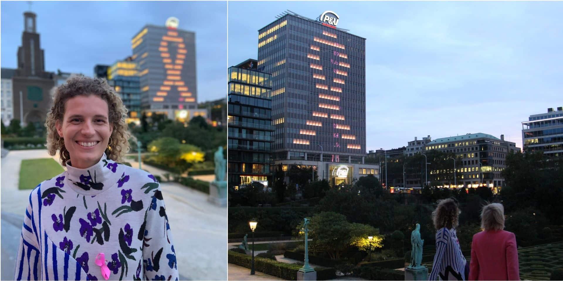 Octobre rose : Olivia Borlée lance le mois international de lutte contre le cancer du sein