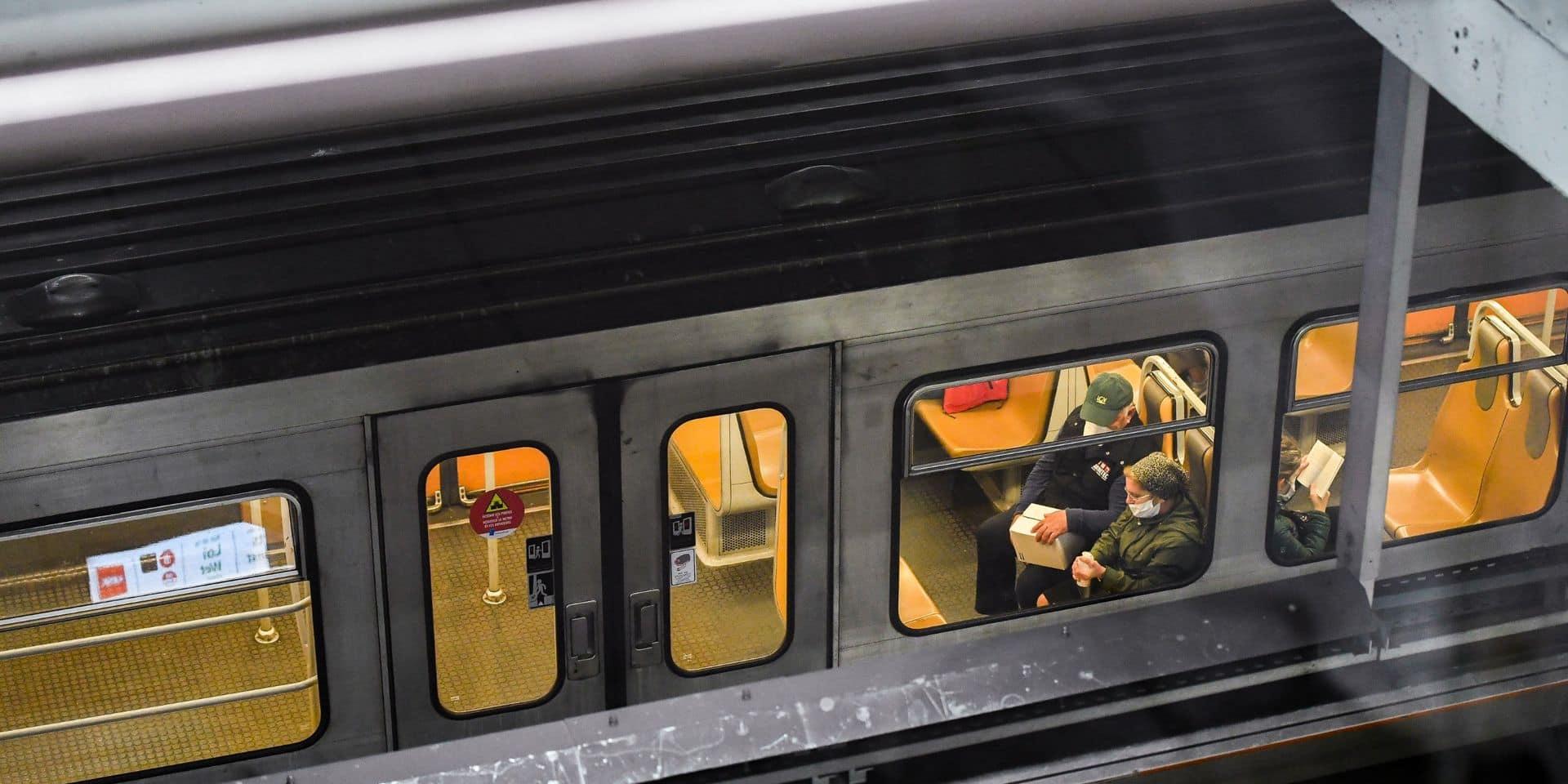 Stib: toutes les lignes de métro, tram et de bus circulent lundi matin