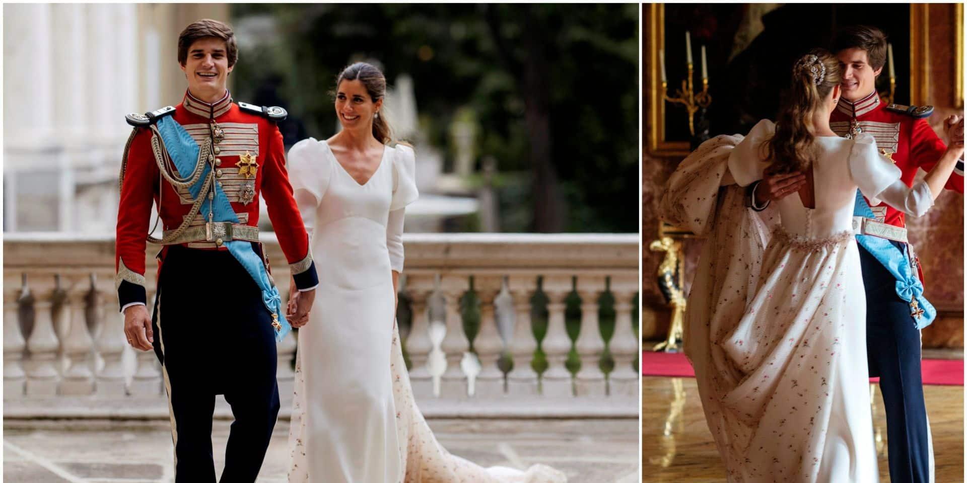 Carlos Fitz James-Stuart et Belen Corsini: le couple aristocratique le plus glamour d'Espagne s'est marié