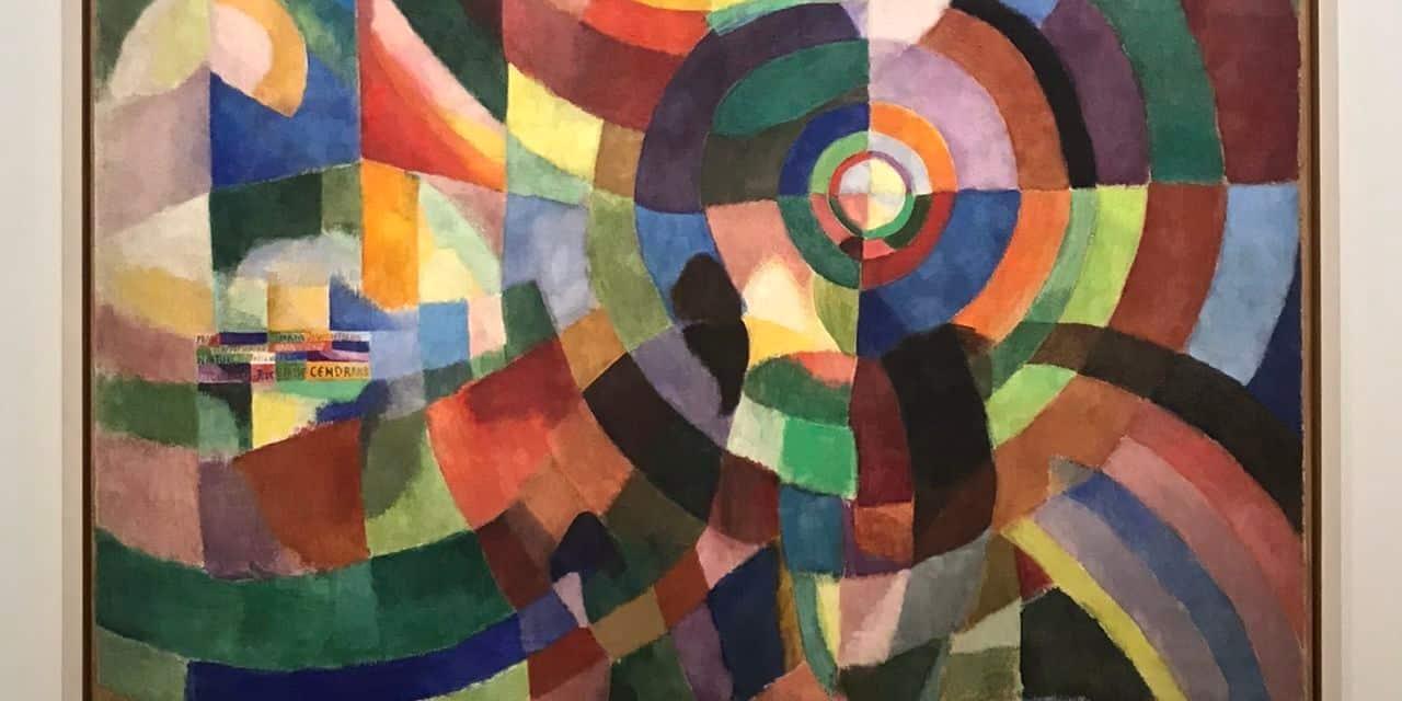 Sonia Delaunay-Terk: Prismes électriques, 1914