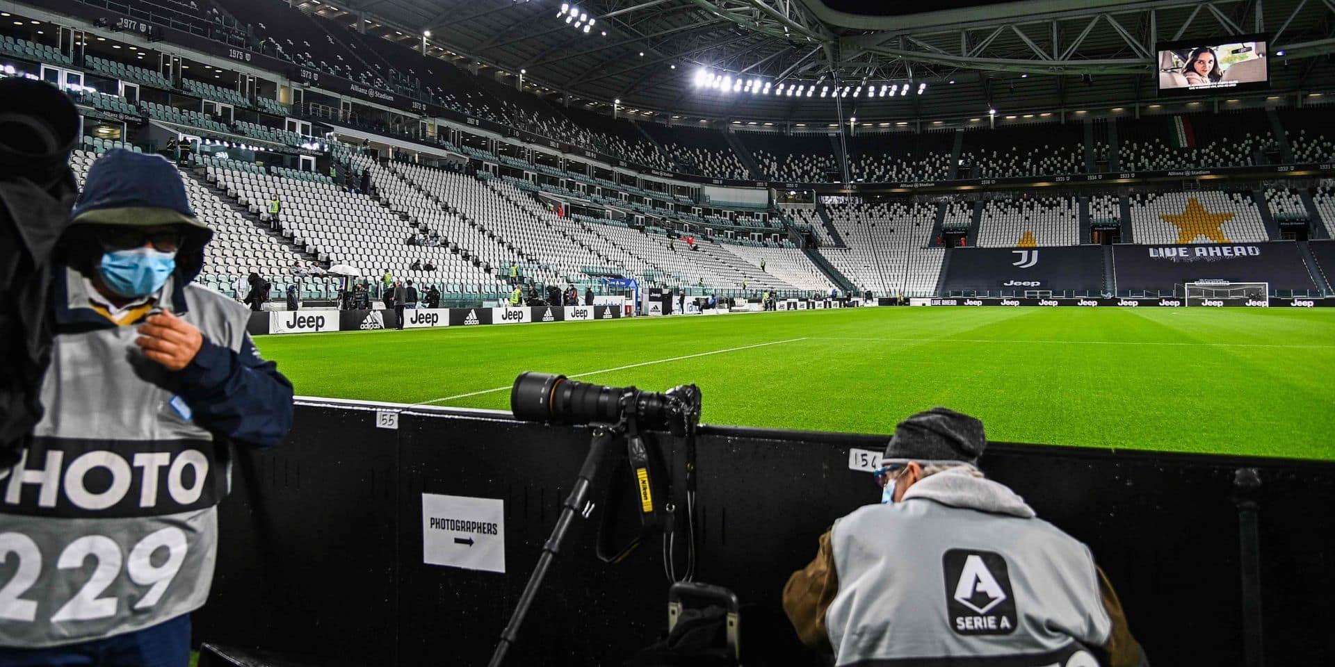 Naples absent contre la Juventus à l'heure prévue du coup d'envoi