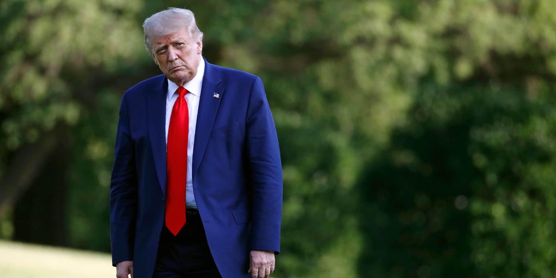 """Le coronavirus finira par """"disparaître"""", persiste Trump"""