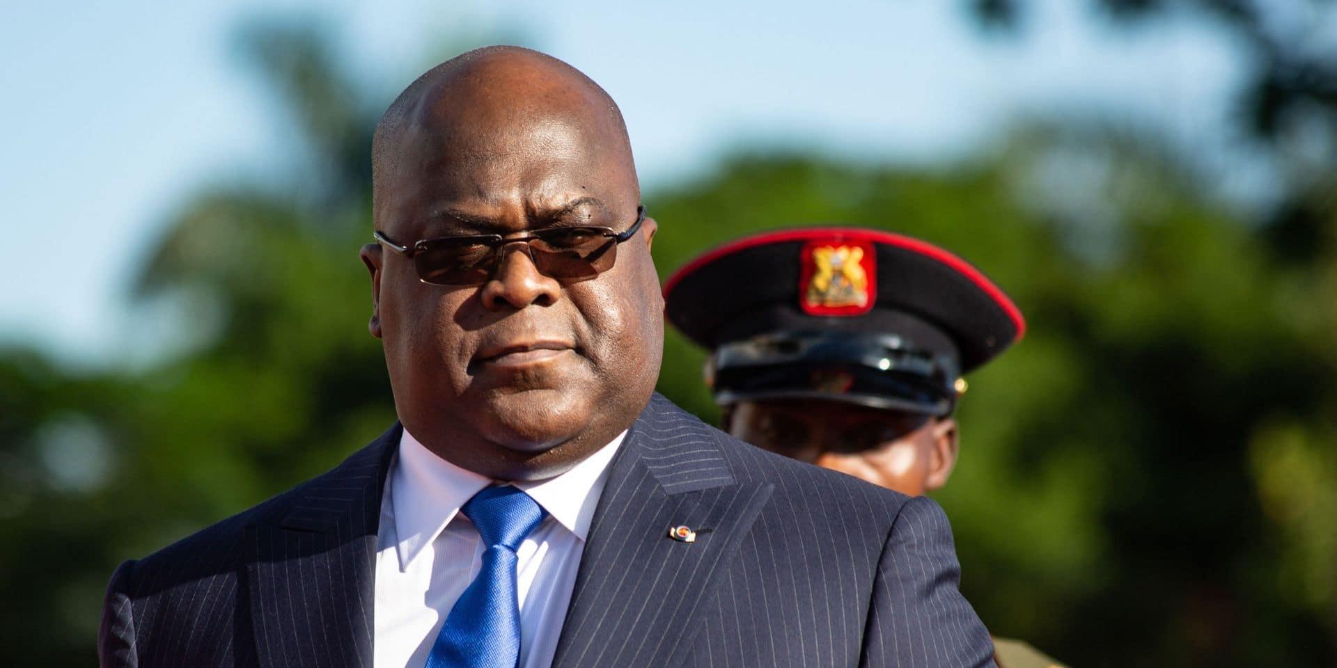 Félix Tshisekedi, président de la République démocratique du Congo.