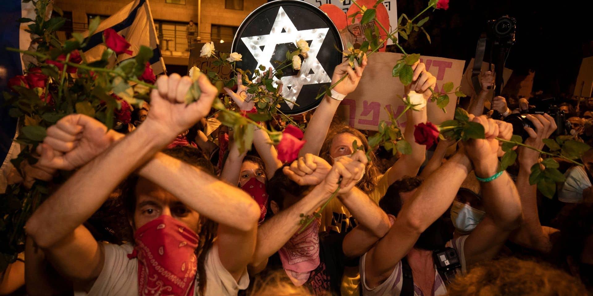 """Onze protestataires arrêtés dans de nouvelles manifestations contre Netanyahou: """"Nous n'abandonnerons pas jusqu'à ce qu'il démissionne"""""""