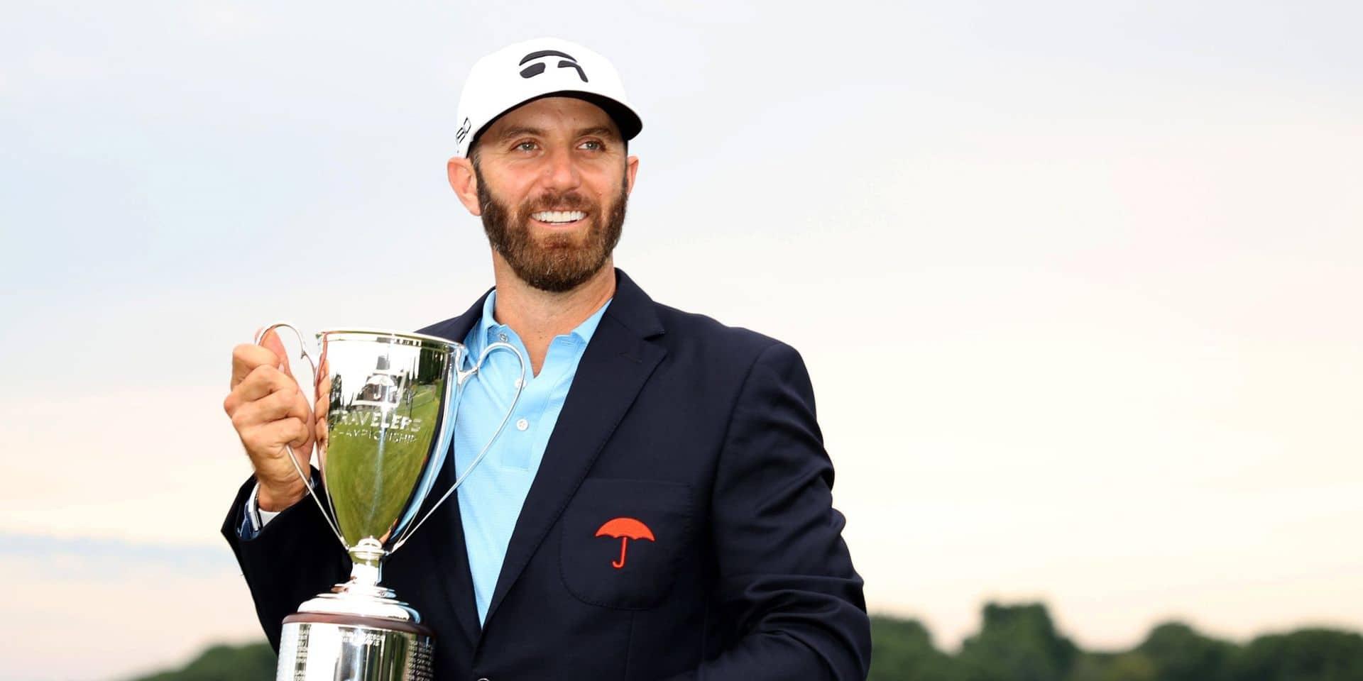 PGA Tour: Dustin Johnson est de retour!