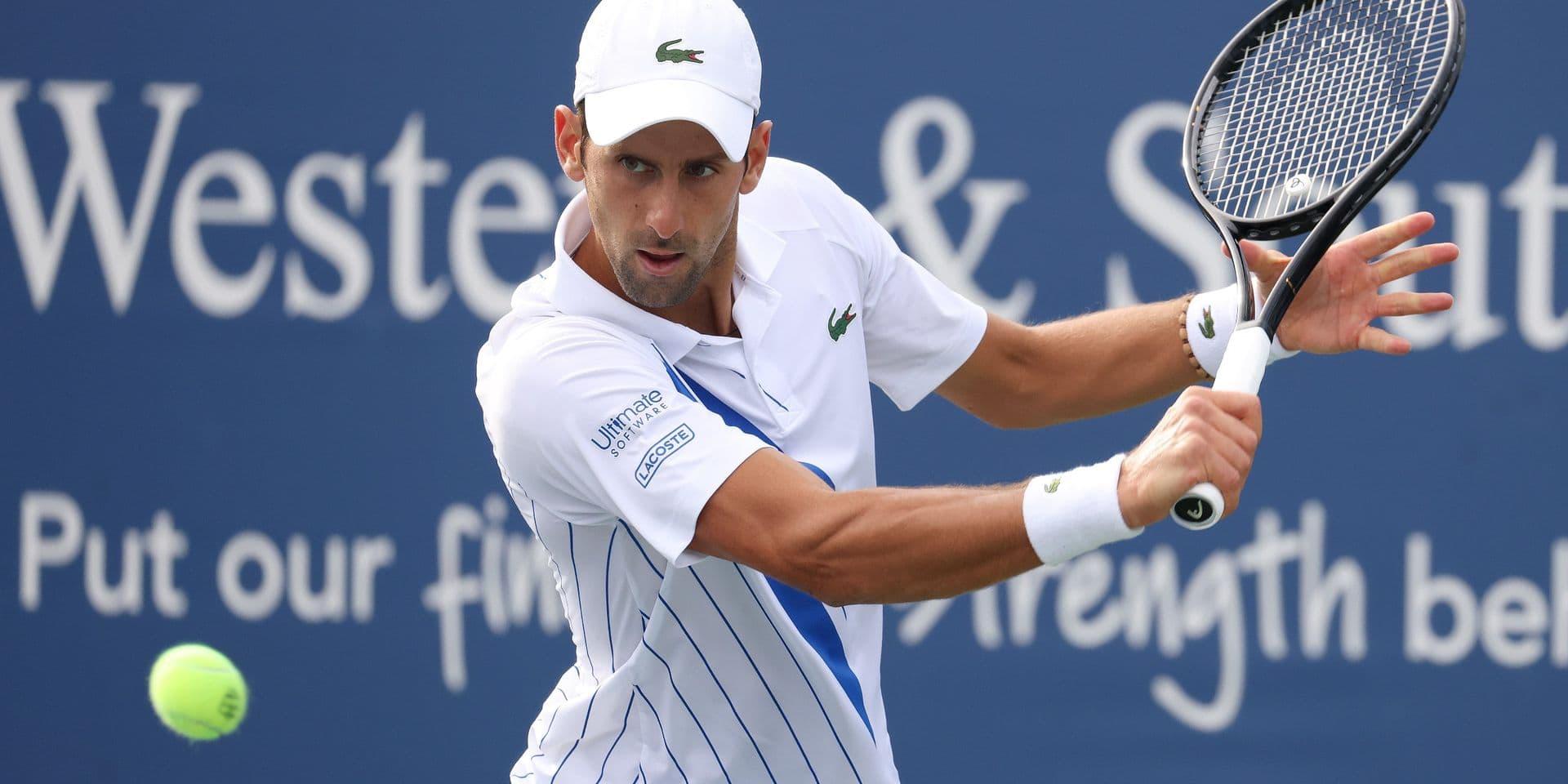 Cincinnati: Djokovic vient difficilement à bout de Bautista Agut pour rejoindre Raonic en finale