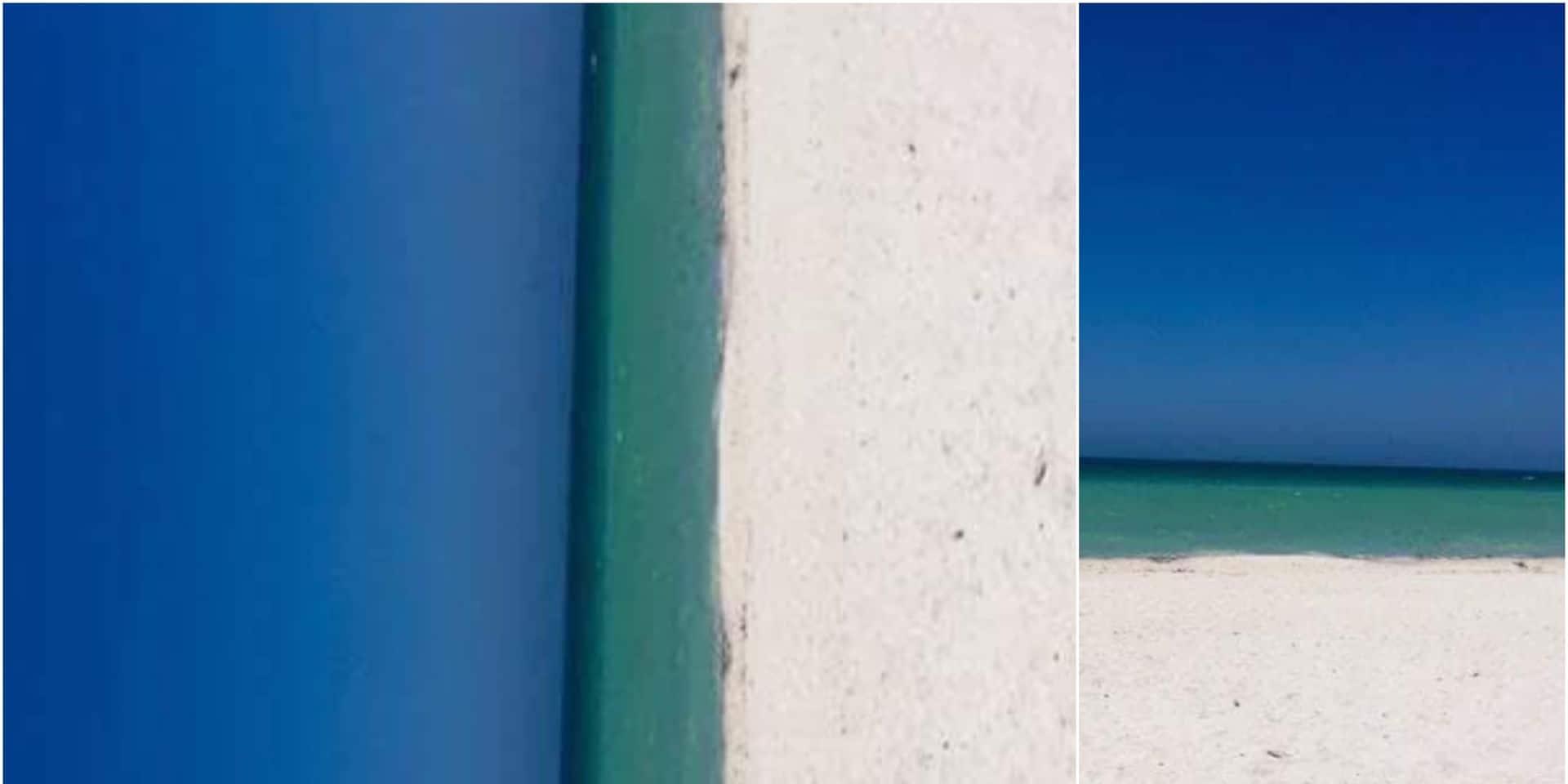 Voyez-vous une plage ou une porte ? Un débat fait rage sur Twitter sur cette illusion d'optique