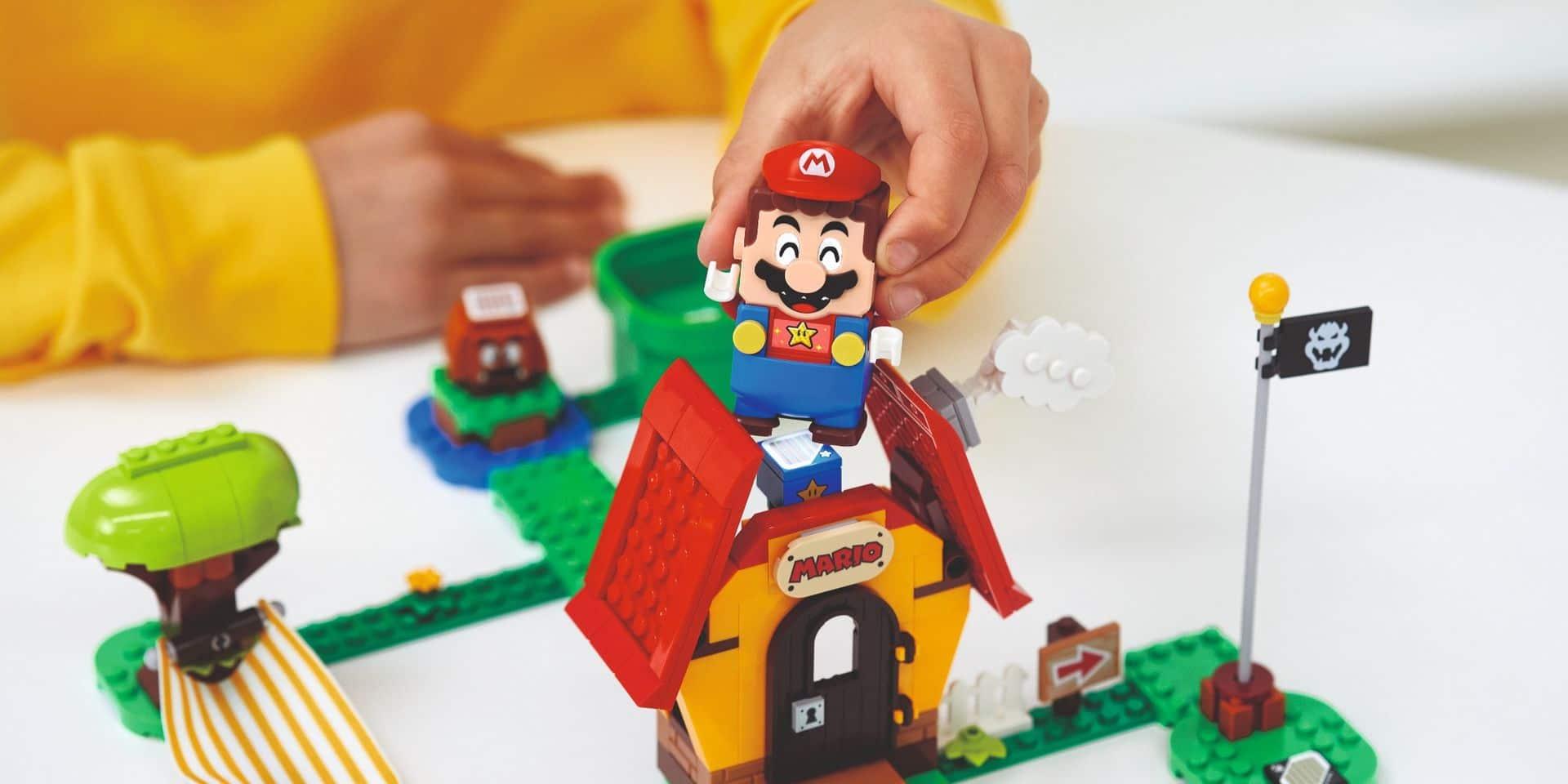 Jeux Lego et Nintendo Super Mario