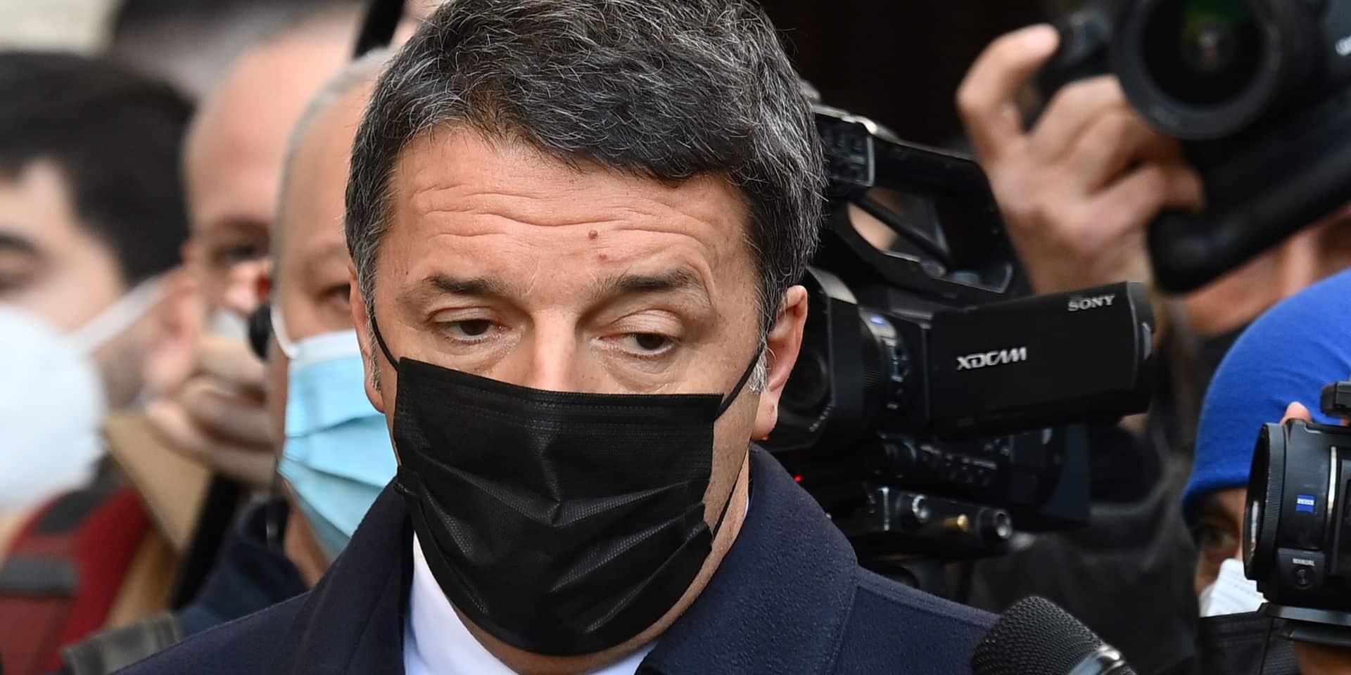Matteo Renzi a reçu une enveloppe avec deux balles