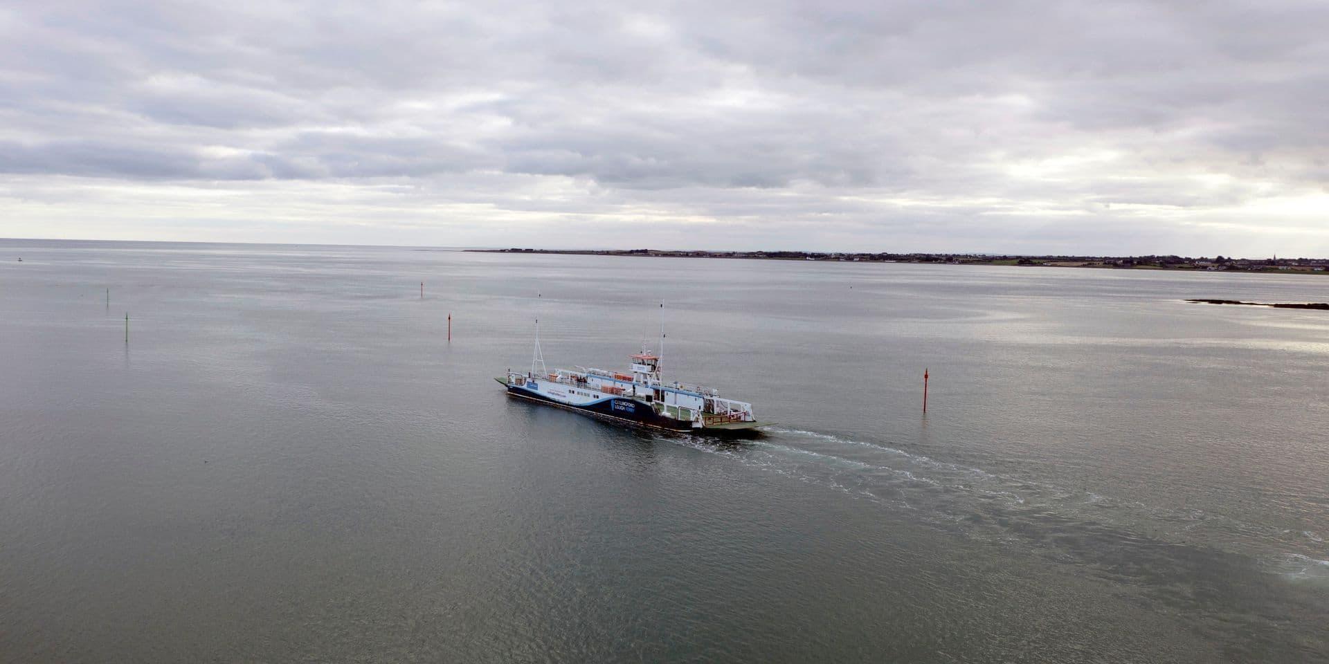 Seize personnes en provenance de Belgique retrouvées vivantes dans un camion à bord d'un ferry