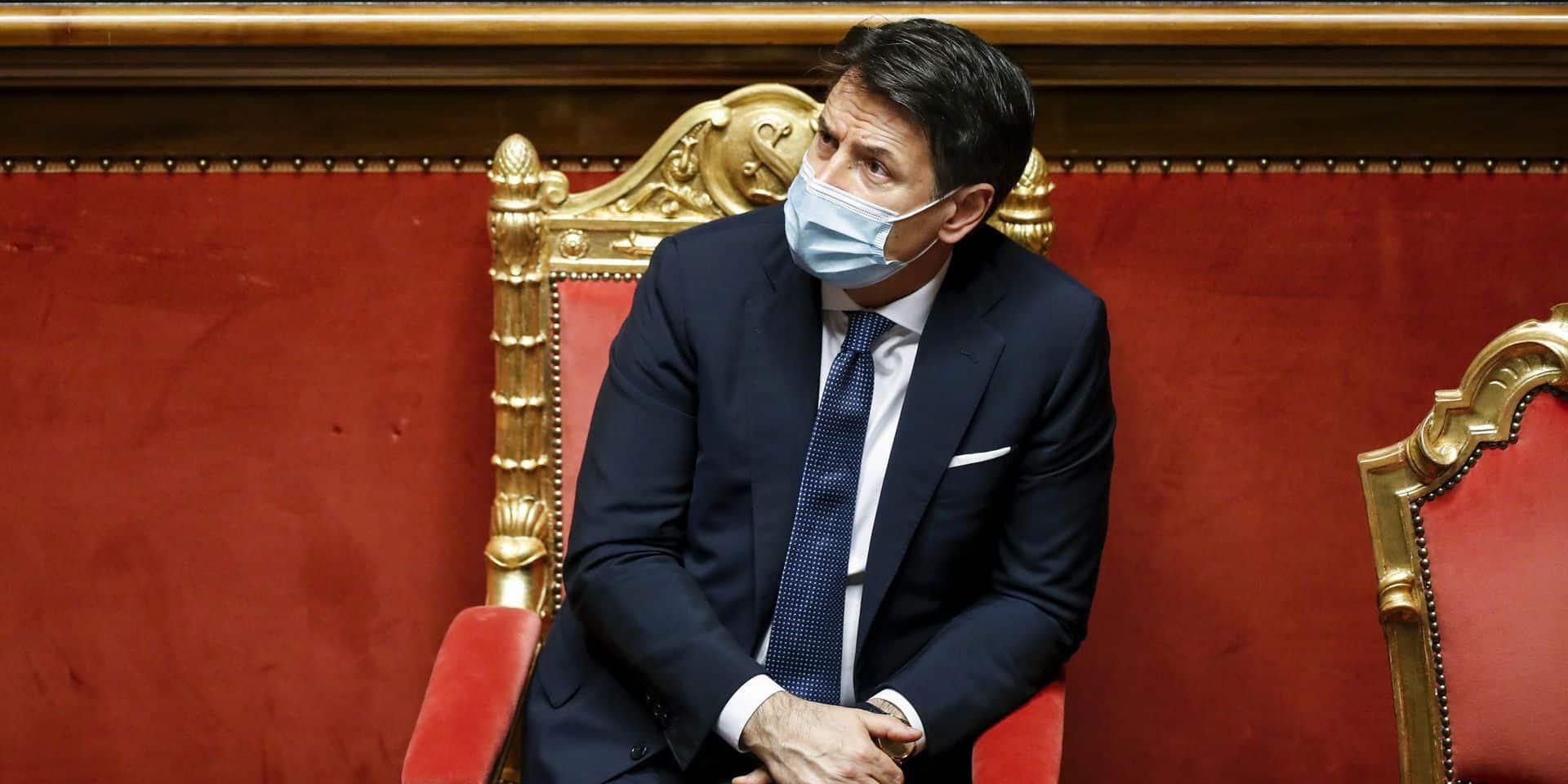 Giuseppe Conte affaibli cherche à renforcer sa majorité en Italie