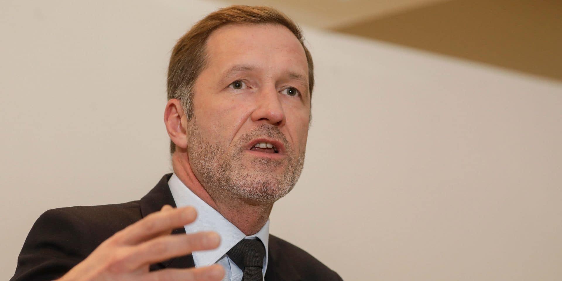 Paul Magnette, informateur royal et président du PS