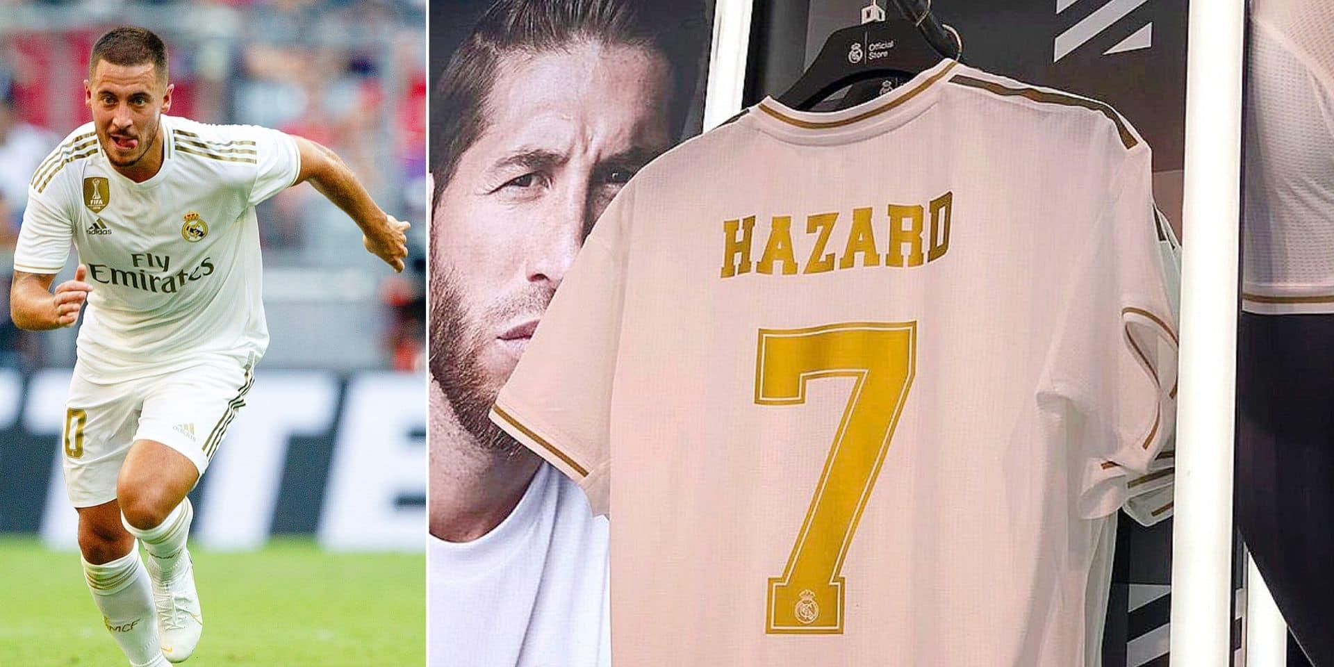 Hazard numéro 7 : l'héritage des Kopa, Ronaldo et Raùl